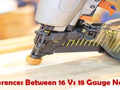 16 or 18 gauge nailer for baseboard