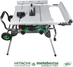 Hitachi C10RJ 10 15-Amp Jobsite Table Saw