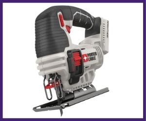 it is budget friendly porter cable PCC650B cordless jigsaw