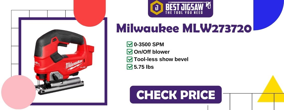 Milwaukee (MLW273720) M18 FUEL D-Handle Jigsaw